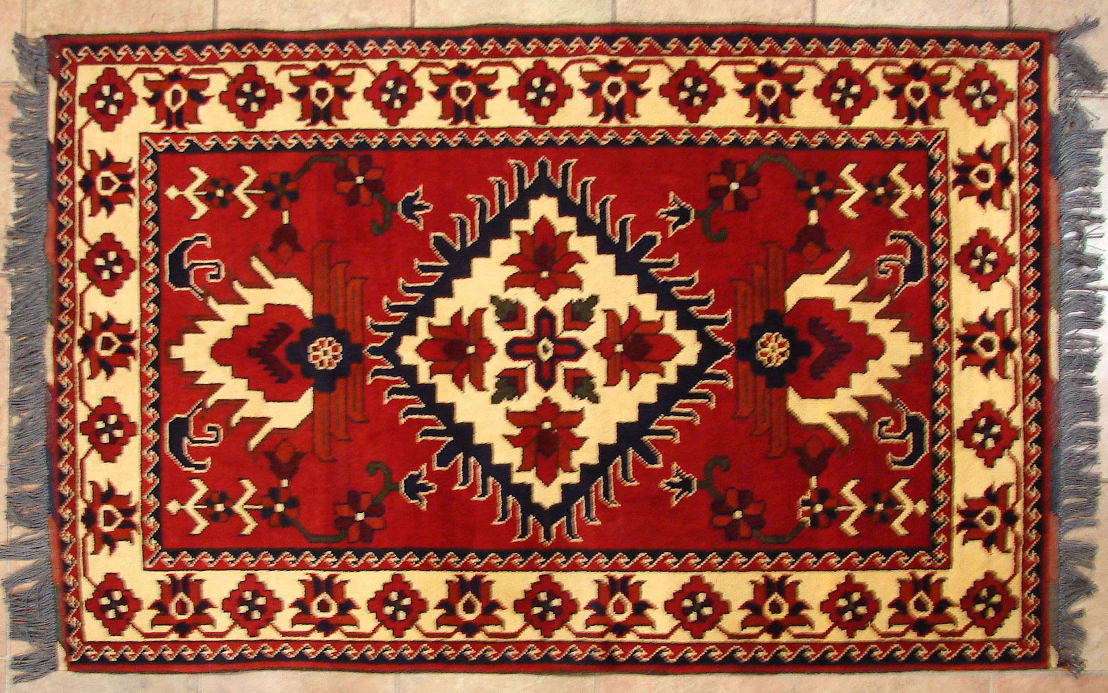 Afghani Rug Roselawnlutheran